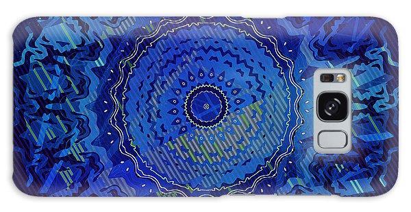 Galaxy Case featuring the digital art Chlorine Summer Night Sky by Joy McKenzie