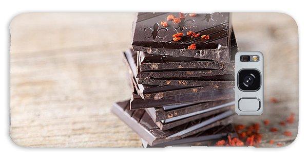 Tasty Galaxy Case - Chocolate And Chili by Nailia Schwarz