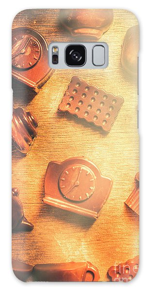 Cafe Galaxy Case - Chocolate Cafe Background by Jorgo Photography - Wall Art Gallery