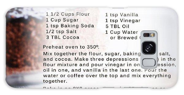Chocolate Cake Recipe Galaxy Case
