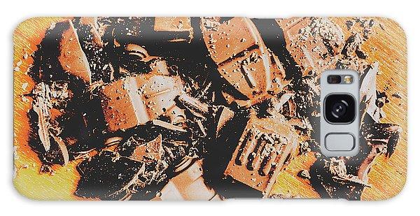 Street Cafe Galaxy Case - Chocolate Demolition Derby by Jorgo Photography - Wall Art Gallery