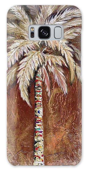 Chocolate Palm Galaxy Case