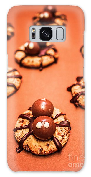 Chocolate Peanut Butter Spider Cookies Galaxy Case by Jorgo Photography - Wall Art Gallery