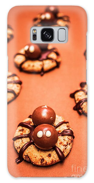 Angle Galaxy Case - Chocolate Peanut Butter Spider Cookies by Jorgo Photography - Wall Art Gallery