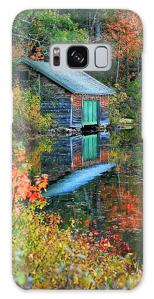 Chocorua Boathouse Galaxy Case