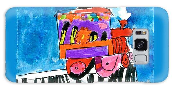 Choochoo Train Galaxy Case