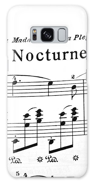 Chopin Nocturne Part 2 Galaxy Case