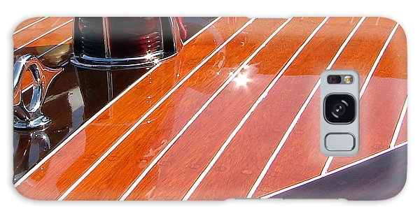 Motor Yacht Galaxy Case - Chris Craft Bow by Michelle Calkins
