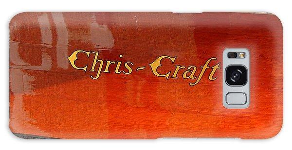 Motor Yacht Galaxy Case - Chris Craft Logo by Michelle Calkins