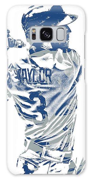 Los Angeles Dodgers Galaxy S8 Case - Chris Taylor Los Angeles Dodgers Pixel Art 5 by Joe Hamilton