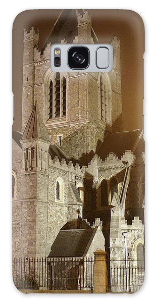 Christ Church Dublin Ireland Galaxy Case by Henri Irizarri