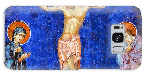 Anubis Galaxy Case - Christ Crucified by Esoterica Art Agency