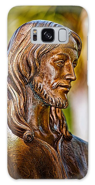 Christ In Bronze Galaxy Case