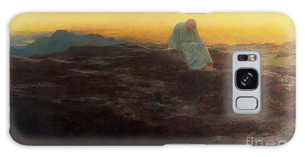 Dawn Galaxy Case - Christ In The Wilderness by Briton Riviere