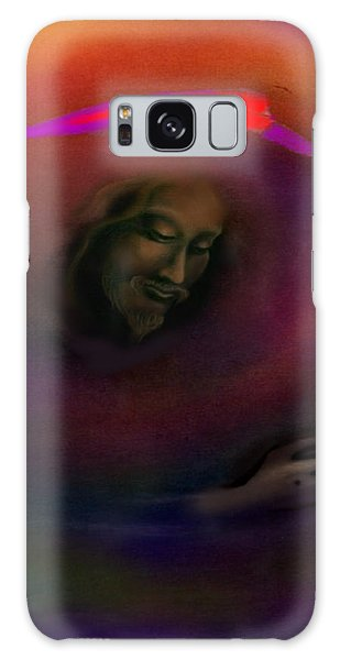 Christ Galaxy Case by Kevin Middleton