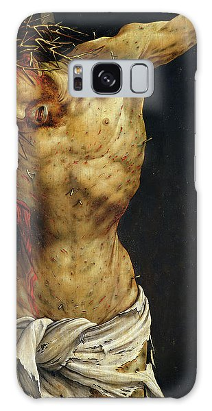 New Testament Galaxy Case - Christ On The Cross by Matthias Grunewald