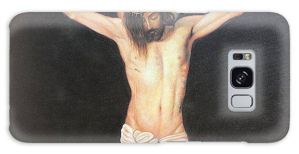 Christ On The Cross Galaxy Case