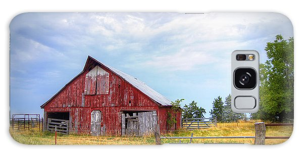 Christian School Road Barn Galaxy Case