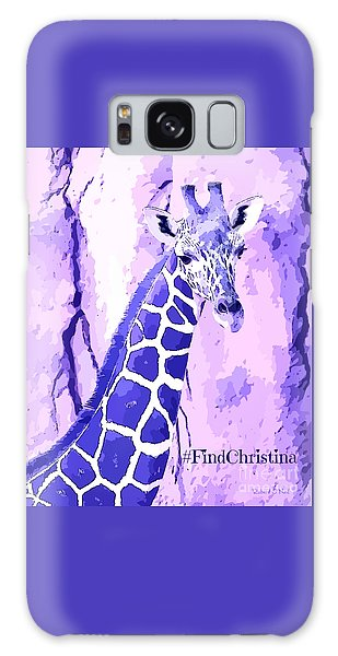 Christina's Giraffe Galaxy Case