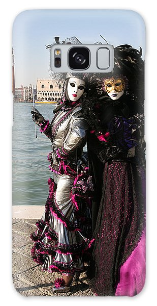 Christine And Gunilla Across St. Mark's  Galaxy Case