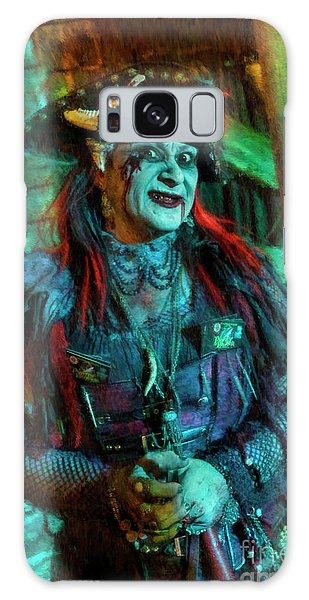 Christine Campiotti And Hunted House Galaxy Case