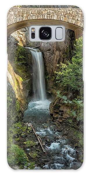 Galaxy Case featuring the photograph Christine Falls by Belinda Greb