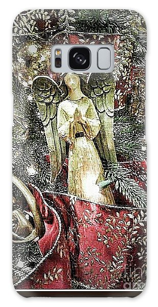 Christmas Angel Greeting Galaxy Case