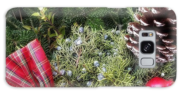 Christmas Arrangement Galaxy Case