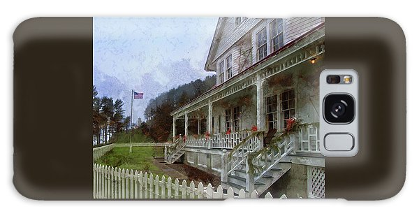 Galaxy Case featuring the photograph Christmas At Heceta Head by Thom Zehrfeld