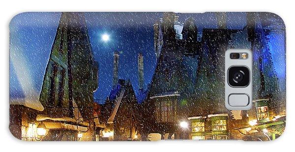 Christmas At Hogsmeade Blank Galaxy Case