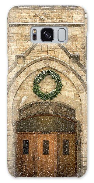 Christmas At Stone Chapel Galaxy Case