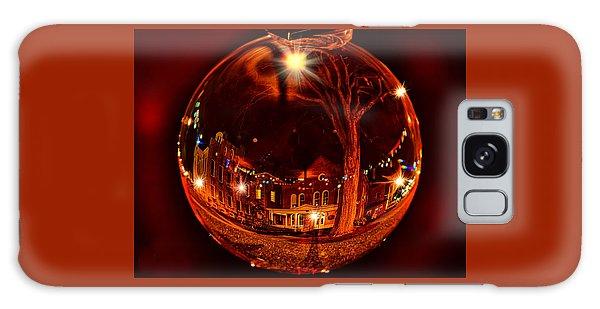 Wellsboro Galaxy Case - Christmas At The Chamber In Wellsboro, Pa by Bernadette Chiaramonte