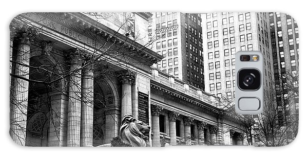 Christmas At The New York Public Library Galaxy Case