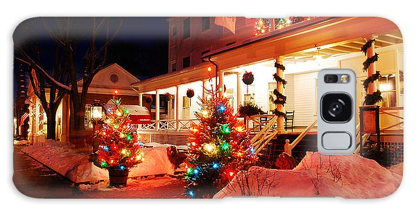 Christmas At The Red Lion Inn Galaxy Case