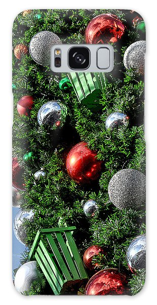 Christmas Balls Galaxy Case