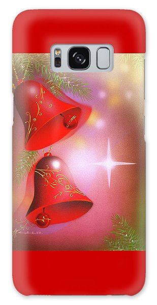 Christmas Bells Galaxy Case