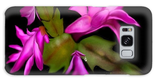 Christmas Cactus Galaxy Case