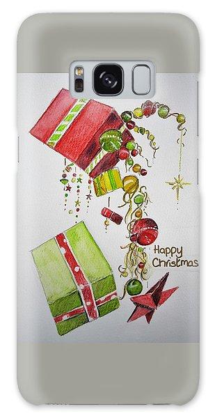Christmas Card Galaxy Case