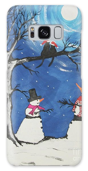 Christmas Cats In Love Galaxy Case