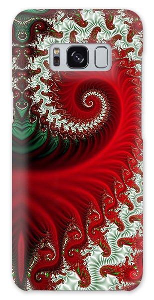 Christmas Swirls Galaxy Case