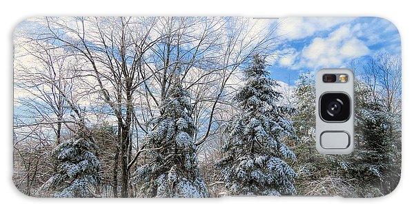 Christmas Day Snow Galaxy Case