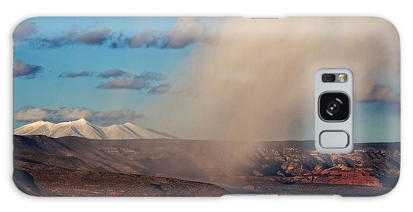 Christmas Day Snow Mix San Francisco Peaks Galaxy Case