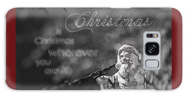 Christmas Everywhere Galaxy Case by Caitlyn Grasso