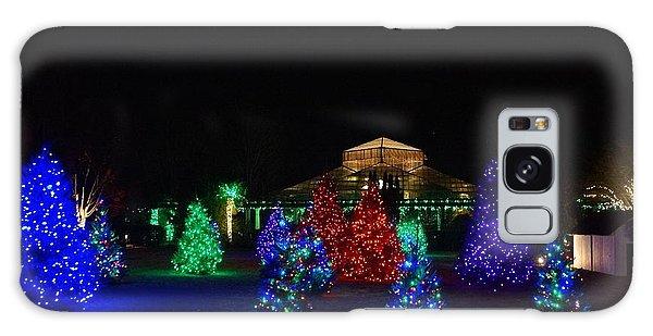 Christmas Garden 7 Galaxy Case