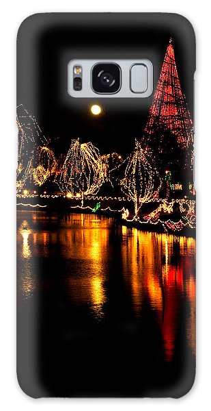 Christmas Glow Galaxy Case by Lana Trussell