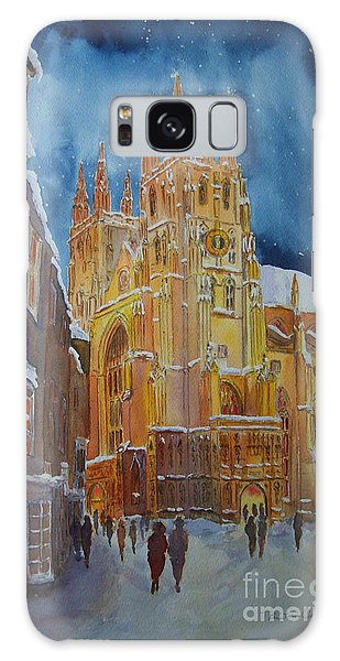 Christmas In Canterbury Galaxy Case