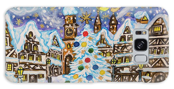 Christmas In Europe Galaxy Case