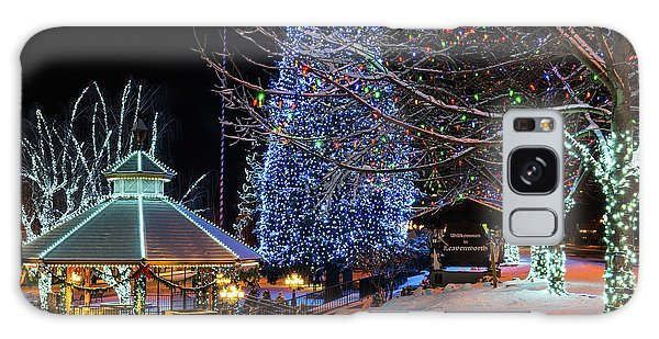 Galaxy Case featuring the photograph Christmas In Leavenworth by Dan Mihai