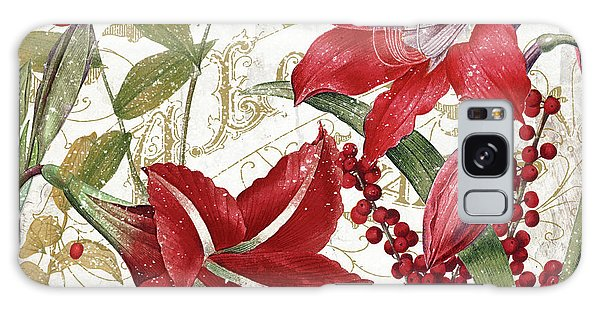 Amaryllis Galaxy Case - Christmas In Paris I by Mindy Sommers