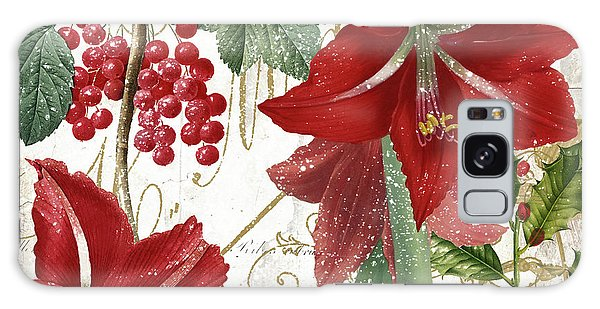 Amaryllis Galaxy Case - Christmas In Paris II by Mindy Sommers